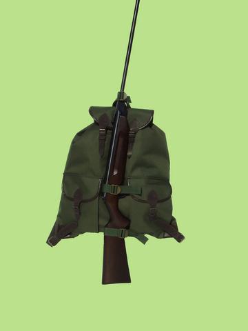 a2f263be0b64 2 zsebes vadász hátizsák fegyvertartóval (H-023)